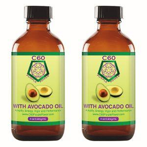 Carbon 60 Avocado Oil - C60 Purple Power