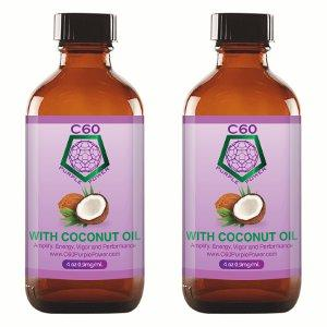 Carbon 60 Coconut Oil - C60 Purple Power