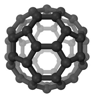 Carbon 60 Fullerene Buckyball Structure