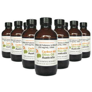 Carbon 60 Olive Oil 100ml x10