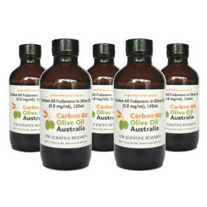 Carbon 60 Olive Oil 100ml x5